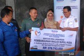 PT KAI salurkan Rp378 juta untuk pembangunan masjid sekitar reaktivasi rel di Garut