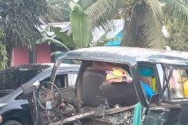 Mobil Pemkab Mukomuko terlibat tabrakan