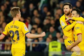 Barcelona bakal tanpa Messi dan De Jong hadapi Dynamo Kiev