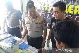Sindikat pengedar uang palsu berhasil dibongkar kepolisian Bekasi