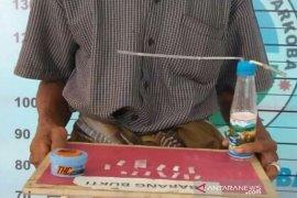 Residivis 65 tahun ditangkap karena miliki 13 paket sabu