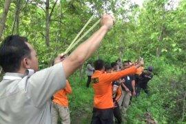 BPBD Magetan sebar puluhan ribu biji-bijian di Gunung Bancak