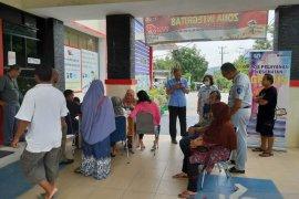 Jasa Raharja Babel Buka Layanan Kesehatan Gratis di Samsat Sungailiat