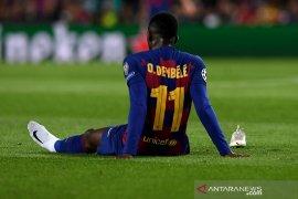 Ousmane Dembele lanjutkan pemulihan cedera di fasilitas latihan Barcelona