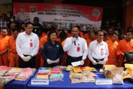 Polda Bali tangani 60 kasus narkoba selama Operasi Antik