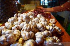 Harga bawang putih di Bogor naik hingga Rp50 ribu per kilogram