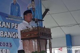 Bupati Bangka berharap pemuda ikut berperan dukung pembangunan daerah