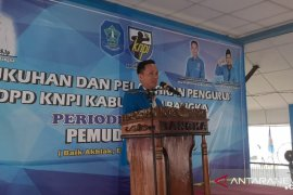 Ketua KNPI Babel lantik pengurus KNPI Bangka periode 2020-2023