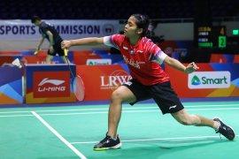 Gregoria sumbang poin pertama Indonesia