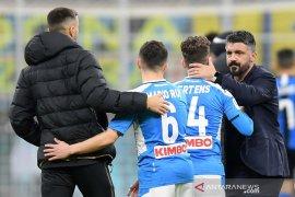 Napoli menang 1-0 atas Inter Milan pada leg pertama semifinal Coppa Italia