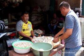 Pedagang rempah Sukabumi andalkan pasokan bawang putih dari Jateng dan Jatim