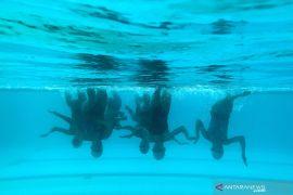 Tim renang indah Sulsel untuk PON XX Papua kurangi porsi latihan