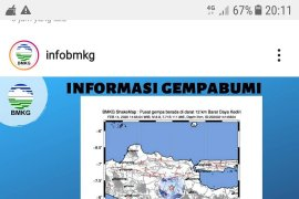 BPBD Kota Kediri masih telusuri dampak gempa