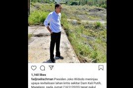 Presiden tinjau upaya revitalisasi lahan kritis di Magelang