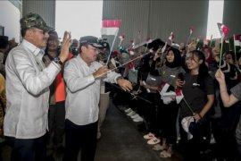 WNI dari Wuhan di Natuna resmi dipulangkan