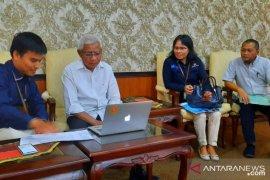 BPS Asahan lakukan sensus  online perdana kepada Bupati Asahan