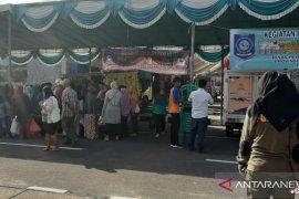 Dinakerperindag Bangka gelar pasar murah sembako