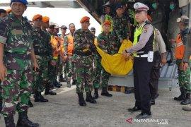 Jenazah korban Heli MI 17 diterbangkan ke Surabaya dan Semarang