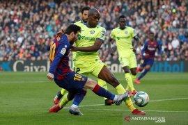 Barcelona susah payah kalahkan Getafe 2-1