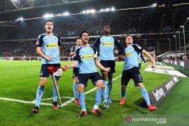 Liga Jerman - Imbang 1-1 di markas Gladbachn Wolfsburg bawa pulang satu poin