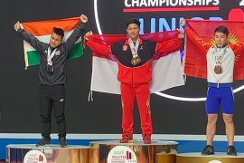 Lifter Muhammad Faathir kembali pecahkan rekor dunia remaja