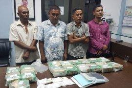 BNN gagalkan penyeludupan 33 kg sabu dari Malaysia