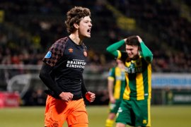 PSV pecundangi ADO 3-0 untuk naik posisi tiga Liga Belanda