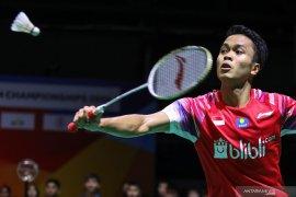 Tunggal putra Indonesia di All England tidak sesuai harapan