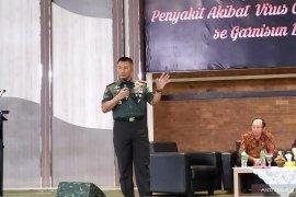 Pangdam Udayana ajak PAMKI Bali beri edukasi Covid-19