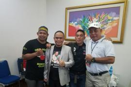 Wabub Effendi saksikan penampilan petinju asal Kayong Utara