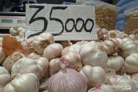 Pemerintah intervensi, harga bawang putih di Pontianak terus turun