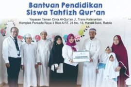 Bank Kalsel Syariah peduli pendidikan AlQuran