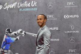 Lewis Hamilton-Lionel Messi raih anugerah olahragawan terbaik dunia