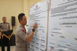 Polres Madina canangkan zona integritas bebas korupsi