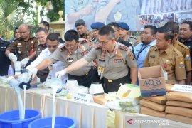 Kapolda bertekad stop peredaran jaringan narkotika di Jambi