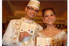 Kisah di balik kebaya pernikahan Ashraf Sinclair-BCL