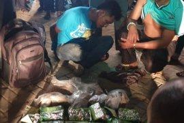 Penyelundupan 10 kilogram sabu dari Malaysia digagalkan