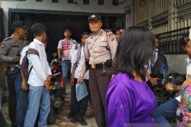 Nongkrong di warnet saat jam sekolah, 8 pelajar di Medan terjaring Operasi Kasih Sayang