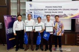 KKP Pratama Bangka beri penghargaan OPD patuh pelaporan pajak