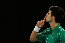 Djokovic angkat trofi kelimanya di Dubai Open