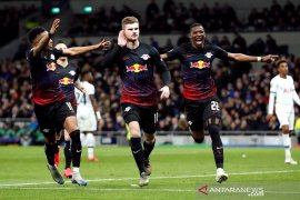 Penalti Werner antar Leipzig curi kemenangan leg pertama di Tottenham