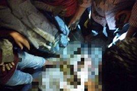 Massa amuk pria diduga kurang waras di Nagan Raya