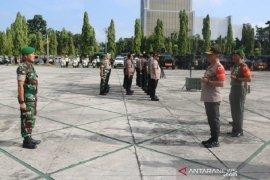 Ribuan personel TNI Polri siap amankan kunjungan Presiden Jokowi  ke Riau