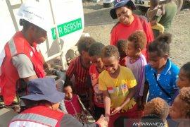 PMI Papua berikan promkes kepada pengungsi banjir bandang Sentani