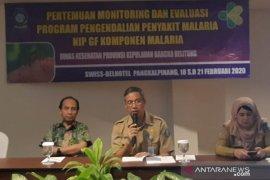 Enam kabupaten di Bangka Belitung terima sertifikat eliminasi malaria