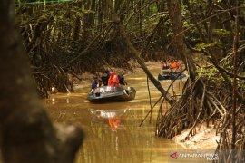 Polri dan TNI tanam 10 ribu bibit mangrove di sepanjang pesisir Kaltim