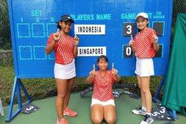 Indonesia juara grup kualifikasi  Asia/Oseania WJTC 2020