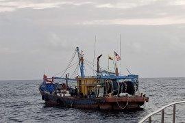 Lagi, KKP tangkap satu kapal ikan asing ilegal di Selat Malaka