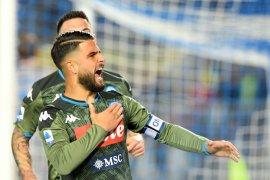 Liga Italia: Napoli tundukkan Brescia meski sempat tertinggal terlebih dahulu