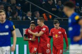 Liga Jerman, Leipzig pesta lima gol tanpa balas ke gawang Schalke